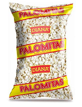 A bag of Diana-brand Palomitas.